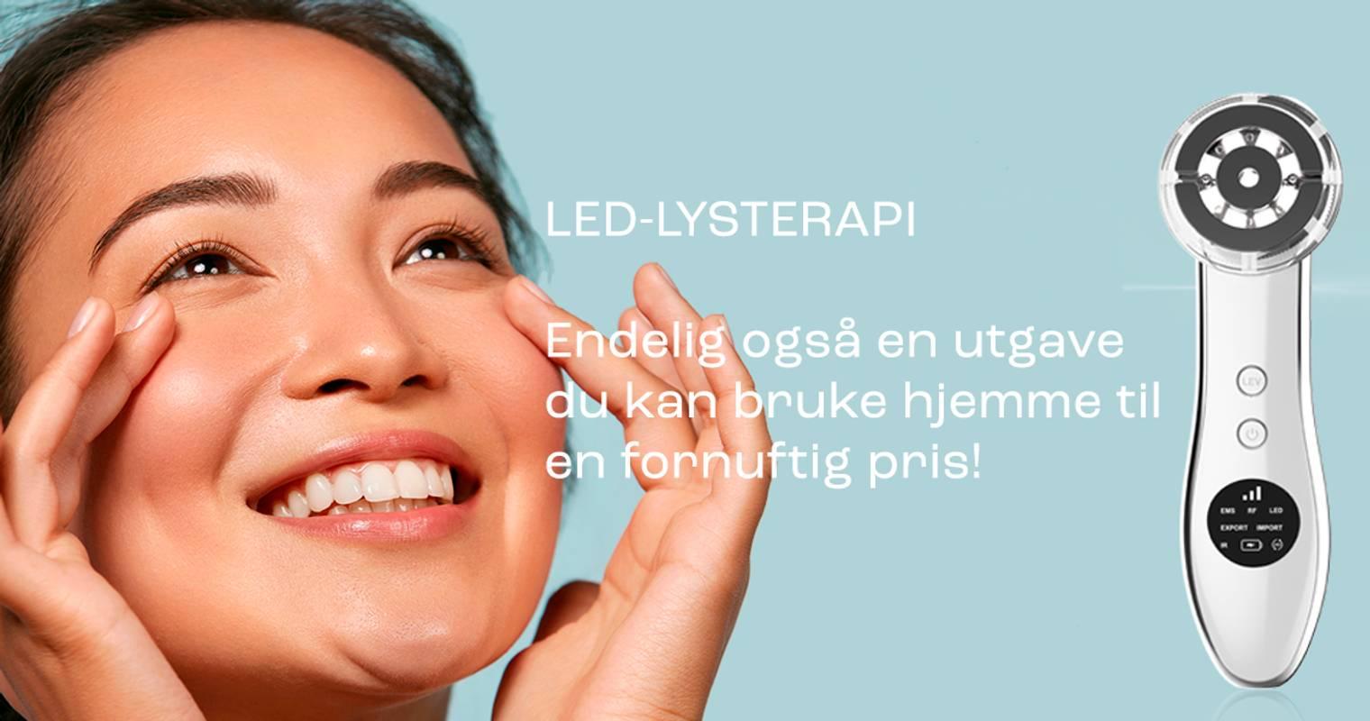 LED-lysterapi, LED-lampe, ledlampe, ledlys, led behandling
