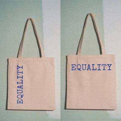 EQUALITY TOTE BAG VERTIKAL