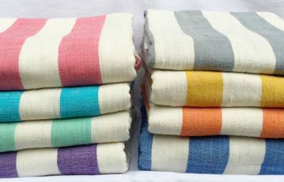 OMO Badehåndkle  fra Sabahar - Håndvevd - Luksuriøst - Fair Tra