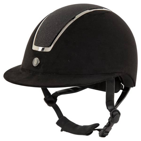 Bilde av BR ridehjelm Helmet Omega Microfiber glitter