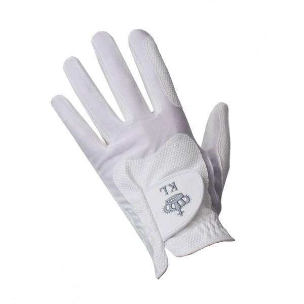 Bilde av Kingsland Classic riding gloves unisex white