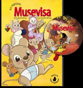 Bilde av Musevisa bok med film
