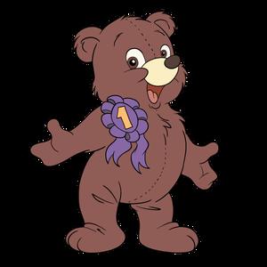 Bilde av Magnetfigur - Teddy