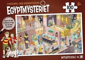Bilde av Egyptmysteriet - puslespill