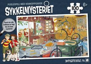 Bilde av Sykkelmysteriet - puslespill