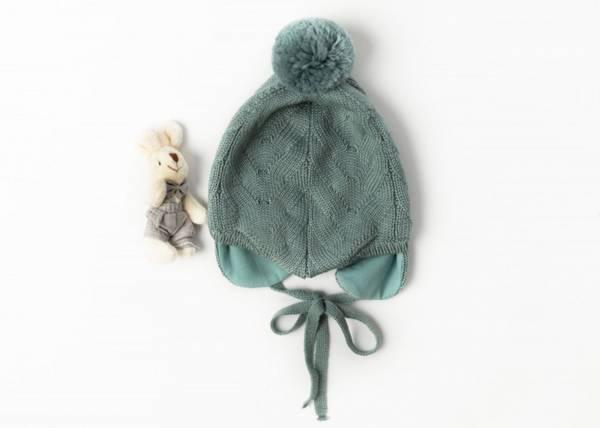 Bilde av Lue Norfolk i merinoull med bomulsfôr, støvet