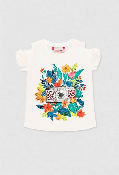 Bilde av Boboli T-skjorte jente 439107