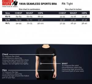 Bilde av Gorilla Wear Yava Seamless Sports Bra - Sort