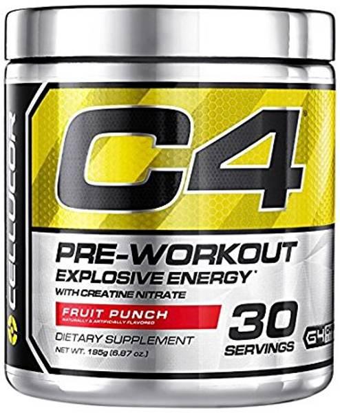 C4 Pre-Workout - 180g - 30 serveringer