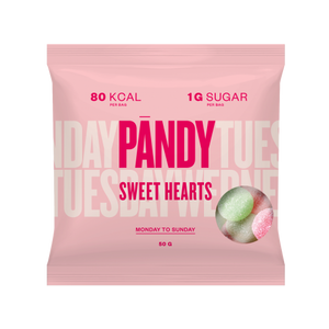 Bilde av Pandy Candy Sweet Hearts 50g
