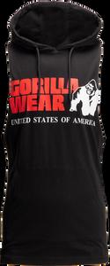 Bilde av Gorilla Wear Rogers Hooded Tank Top - Sort