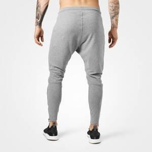 Bilde av Better Bodies Harlem Zip Pants Greymelange -