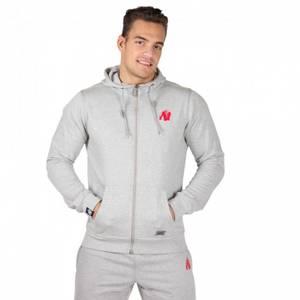 Bilde av Gorilla Wear Classic Zipped Hoodie Grey -