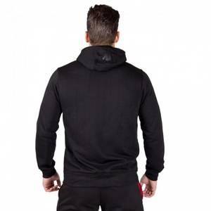 Bilde av Gorilla Wear Classic Zipped Hoodie Black -