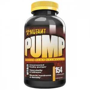 Bilde av Mutant Pump - 154 caps - PreWorkout