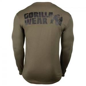 Bilde av Gorilla Wear Williams Longsleeve Army Green -
