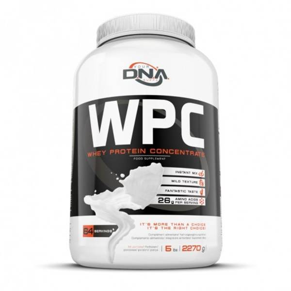 DNA WPC Whey Protein - 2,3kg