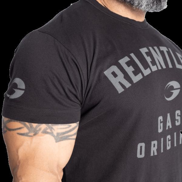 Gasp Relentless Skull Tee - Sort t-skjorte