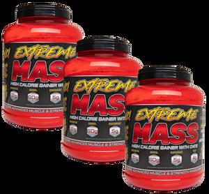 Bilde av 3 x 3 kg Extreme Mass - Hardcore Mass Gainer