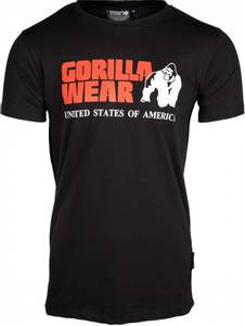 Bilde av Gorilla Wear Classic T-shirt - Sort t-skjorte
