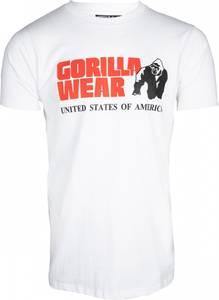 Bilde av Gorilla Wear Classic T-shirt - Hvit t-skjorte