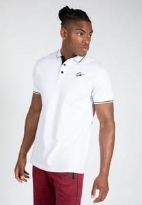 Bilde av Gorilla Wear Delano Polo - Hvit t-skjorte