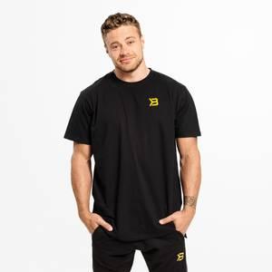 Bilde av Better Bodies Stanton Oversize Tee Black/Yellow -