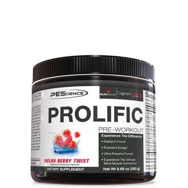 PEScience Prolific PreWorkout - 280g