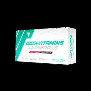 Bilde av Trec 100% Vitamins & Minerals - 60 kapsler