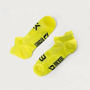 Bilde av Better Bodies Short Socks 2 pk - Sokker - Neongul
