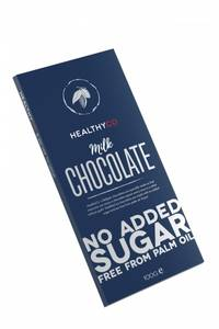Bilde av HealthyCo Sjokoladeplate 100g - Milk Chocolate