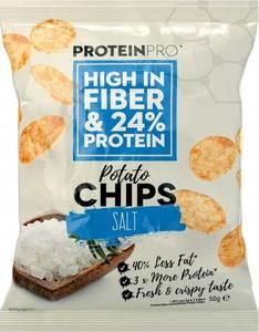 Bilde av ProteinPro Chips 50g - Salt
