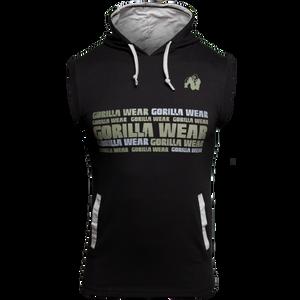 Bilde av Gorilla Wear Melbourne S/L Hooded T-shirt - Black