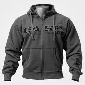 Bilde av Gasp 1.2 lbs Hoodie Grey - Treningsjakke