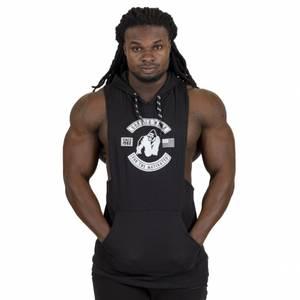 Bilde av Gorilla Wear Lawrence Hooded Tank Top - Black