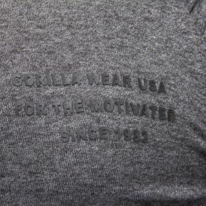 Bilde av Gorilla Wear Delta Hoodie Grey - Treningsjakke