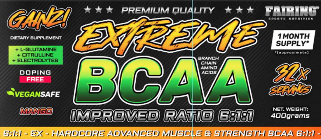 Fairing 2 x Extreme BCAA - 2x400 g