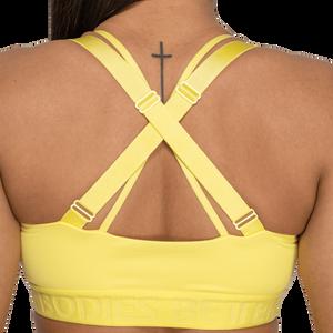 Bilde av Better Bodies Waverly Sports Bra - Lys gul