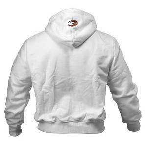 Bilde av Gasp 1.2 lbs Hoodie White - Treningsjakke