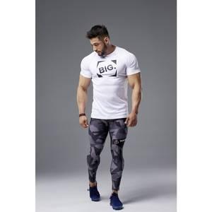 Bilde av Live & Fight Mens T-shirt Active Raglan White