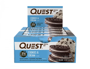 Bilde av Quest Protein Bar 12x60g - Cookies & Cream