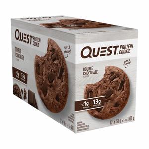 Bilde av Quest Protein Cookie 12x50g - Double Chocolate