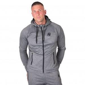 Bilde av Gorilla Wear Bridgeport Zipped Hoodie - Grey -
