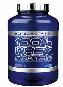 Bilde av Scitec 100% Whey Protein 2350g - Vanilje -