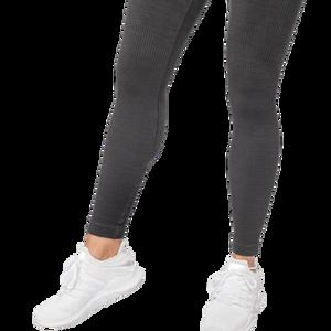 Bilde av Better Bodies Rib seamless legging - sort melange