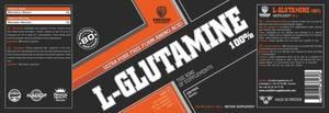 Bilde av Swedish Supplements L-Glutamine 100% 400g -