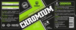 Bilde av Swedish Supplements Chromium - 90 kapsler - Krom