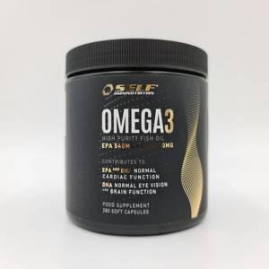 Bilde av Self Omega 3 Fish Oil - 280 kapsler - Fettsyrer