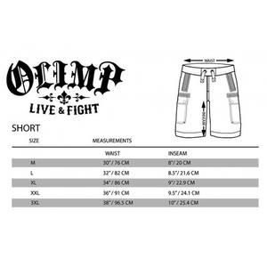 Bilde av Live & Fight Mens Shorts Workout Olimp Black
