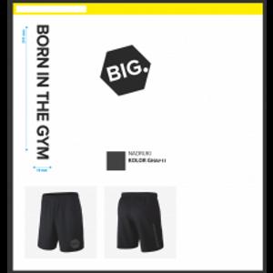 Bilde av Live & Fight Mens Shorts Force Big Black